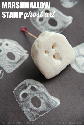 marshmallow-stamp-art
