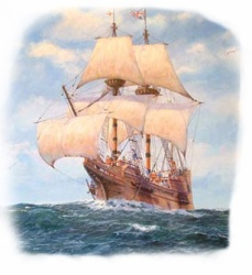 Image result for the mayflower